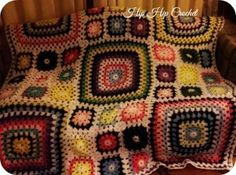 Granny and Great Granny Square Afghan