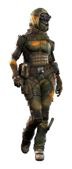Mil sniper pilot female... My favorite skin but I don't snipe :(