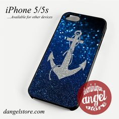 Sparkling Anchor Phone case for iPhone 4/4s/5/5c/5s/6/6 plus