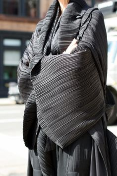 It would be an absolute dream to have a wardrobe full of Issey Miyake's Pleats Please pieces. #ambitions