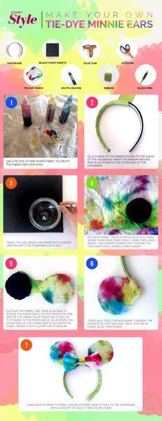 DIY Tie-Dye Minnie E