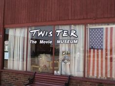 Twister Museum in Wakita, Oklahoma is a unique place to visit for movie lovers and storm chasers alike.