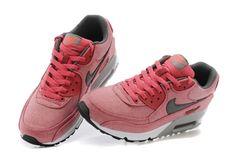 Nike Air Max 90 En Ligne Rouge De Pêche Noir Chaussures,