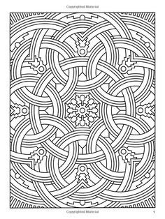 page set up as zero margins center and stretch picture to fit paper geometric coloring book dover design coloring books john wik books