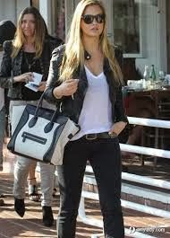 Always Dolled Up: Fall Trend featuring Wilsons Leather: Two Tone Totes and Handbags!