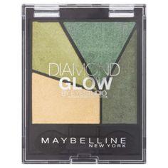 Αποκτήστε τη λάμψη των διαμαντιών στο βλέμμα σας με τις σκιές ματιών της Maybelline Diamond Glow By Eyestudio Eyeshadows! Με 4 σκιές σε συμπληρωματικές αποχρώσεις, εμπλουτισμένες με πολύτιμους λίθους και πλούσια pigments δημιουργήστε ένα λαμπερό μακιγιάζ!  Είναι οφθαλμολογικά ελεγμένη και κ
