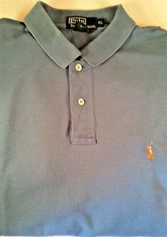 11dd093bf Polo Ralph Lauren Shirt Mens Size XL Short Sleeve s Pique Knit Pony Golf Sz