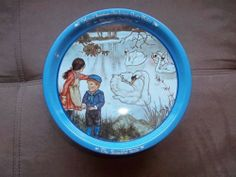 """HANS CHRISTIAN ANDERSEN FAIRY TALES TIN """"The Ugly Duckling"""" 1981 Collectible"""