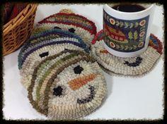 Snowmen Mug Rugs