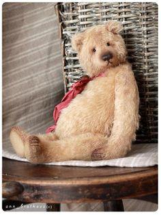 teddy bear antony by anna bratkova