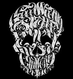 Yes, I am partial to a skull t-shirt, but this one's extra special. Not only does it feature some really ornate type, but it includes all the 7 deadly sins! I certainly am coveting it.    The Seven Deadly Sins Tee by Chop Shop $25