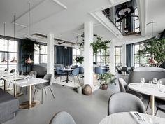 Inspirerend kleurenpalet in restaurant Kopenhagen