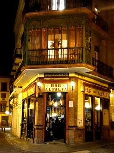 Sevilla nightlife, Andalucía, Spain. If you need a break, Seville is a great destination! http://www.costatropicalevents.com/en/costa-tropical-events/andalusia/cities/seville.html