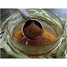 DIY Homemade Brown Sugar Scrub: 2 cups brown sugar (lightly packed) 1/2 cup olive oil 1/4 cup honey 1 teaspoon vanilla Mix all contents together until moist. Scoop mixture into a container. Apply the mixture to your face in gentle circular motions concentrating on your cheeks, forehead & chin. Leave on for 10-15 mins. Rinse off the scrub with warm water.