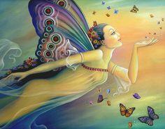 Butterfly Fairies | Butterfly Fairy by BK Lusk