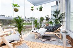 Bambula: Skanska Kodit: vinkkejä parvekkeen sisustamiseen