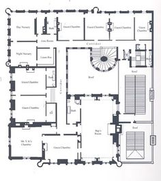 Cornelius Vanderbilt II Residence | 1 West 57th Street, New York City (on the Grand Army Plaza south). Third Floor plans as designed by George B. Post and Richard Morris Hunt primarily feature numerous guest rooms, children's bedrooms and nursery.