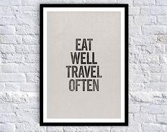 Eat Well, Travel Often /