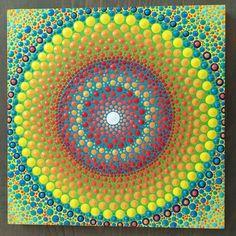 Mandala painting for sale at https://www.etsy.com/shop/InspiredHeartArt?ref=hdr_shop_menu