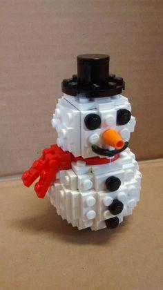 Lego Snowman Mehr