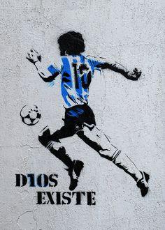 Football Tattoo, Football Art, World Football, Soccer Pro, Football Players, Maradona Tattoo, Street Football, Argentina Football, Neymar Football