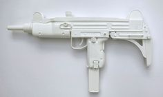 Uzi submachine gun, 2014, by Joanna Rajkowska, from her series Painkillers