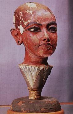Sculpture of Tutankhamun, ca. 1354 BC. Howard Carter's sponsor, Lord Carnarvon,...