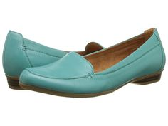 Womens Shoes Naturalizer Saban Sailboat Turquoise Leather