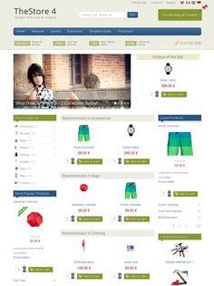Shopping Bag Joomla Responsive eCommerce Template   Premium Joomla ...