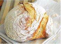White Bean No-Knead Bread