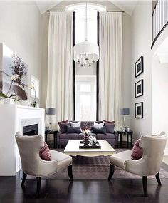 WEBSTA @ velvetmusings - Floor to ceiling windows.. courtesy of Kykie Moore Communities.#home #homedecor #decor #light #fixtures #elegance #interiordesign #luxe #realestate #staging #cozy #livingroom #decor #belle #decoracao #interior #interiorlover