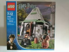Lego Harry Potter Prisoner of Azkaban Hagrid's Hut (4754)