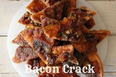 Bacon Crack 29 Incredibly Easy Things You Can Make With Crescent Roll Dough Crescent Roll Dough, Crescent Roll Recipes, Crescent Rolls, Bacon Recipes, Appetizer Recipes, Cooking Recipes, Appetizers, Easy Recipes, Bacon Crack