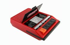 Gadgets retro para teléfonos móviles - Gadgets retro para móviles y tablets - Este es uno de los aparatos más curiosos con los que nos hemos topado. Además de un soporte para smartphones, se trata también de una grabadora de voz inspirada en las de antes...