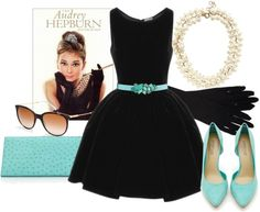 Bridal brunch outfit breakfast at tiffanys Ideas for 2019 Shower Outfits, Baby Shower Dresses, Brunch Outfit, Tea Party Bridal Shower, Bridal Showers, Audrey Hepburn, Vestidos Para Baby Shower, Breakfast At Tiffany's Costume, Breakfast At Tiffanys Party Ideas