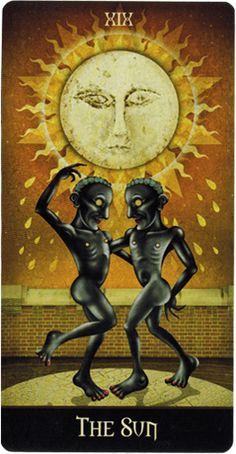Najlepsze Obrazy Na Tablicy Xix Sun 59 Tarot Card Art Tarot