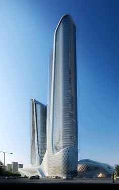 Futuristic Architecture, The Youth Olympic Center designed by Zaha Hadid Architects. Más sobre ciudades y futuro sostenible en www.solerplanet.com