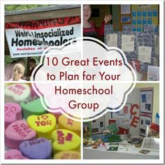 10 Great Events to Plan for Your Homeschool Group