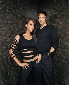 ..._The Dark Angel TV Show (2000 - 2002) with Jessica Alba as Max Guevera / X5-452 and Michael Weatherly as Logan Cale /