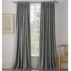 The tonal, subtle herringbone design on the Warren Window Curtain Panel will add a touch of whimsy to any room. The panels are sold individually and each panel measures wide. Each panel also includes an cotton lining. Silver Curtains, Damask Curtains, Damask Decor, Dining Room Curtains, Outdoor Curtains, Window Curtains, Rock Room, Custom Drapes, Drapery Panels