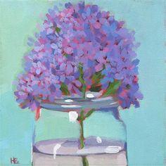 "Daily Paintworks - ""Efforvescence"" - Original Fine Art for Sale - © Heather Bennett Floating Frame, Fine Art Gallery, Art For Sale, Buy Art, Glass Vase, Original Paintings, Artsy, Floral, Artwork"