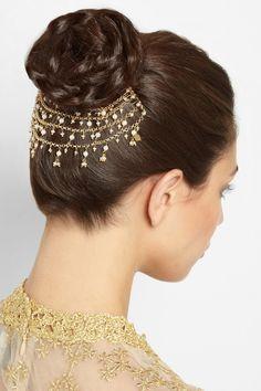 Rosantica|Carmen gold-dipped pearl hairslide|NET-A-PORTER.COM
