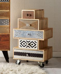 Reclaimed wood chest of drawers, every piece is unique Unique Furniture, Furniture Making, Painted Furniture, Diy Furniture, Furniture Design, Furniture Buyers, Furniture Cleaning, Furniture Removal, Luxury Furniture