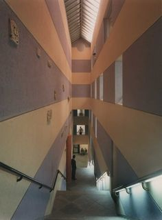 Arthur M. Sackler Museum, Boston MA (1985) | James Stirling & Michael Wilton Assoc.