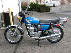 Suzuki GT 380  - I had a red 1975 Suzuki GT380M - first street bike .