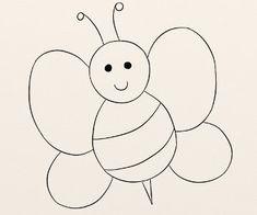 Cum se deseneaza o albinuta - By Oana Tudor, Symbols, Letters, Art, Insects, Art Background, Kunst, Letter, Performing Arts