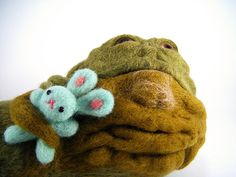 Jabba the Hutt - The Early Years     As a child before the dark side got to him he was bullied by other slugs for his love of Bunnybears.  By Kit Lane