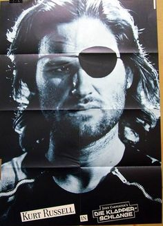 John Carpenter DIE KLAPPERSCHLANGE original Kino Plakat A1  in Filme & DVDs, Filmposter | eBay!