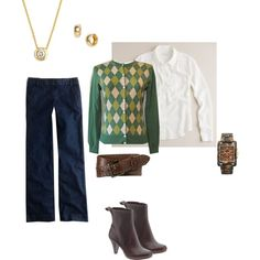 """Today"" featuring Clarks Mary Margaret boot by fromfcdc on Polyvore"