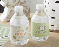 Born to Be Wild Water Labels
